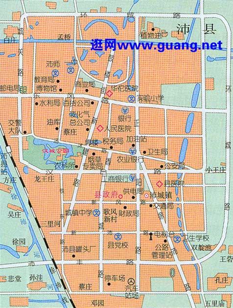 2015年版丰县地图,沛县地图