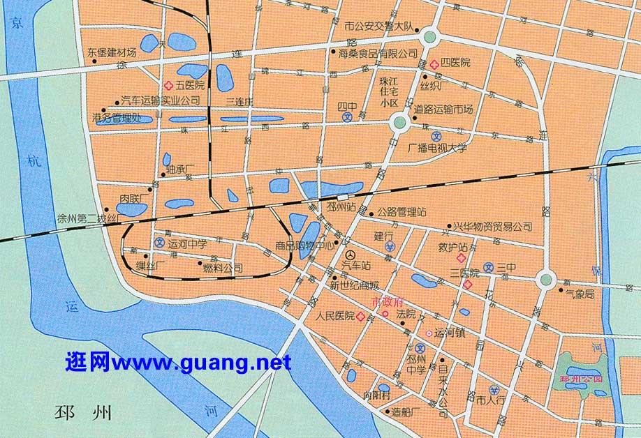 邳州市区地图