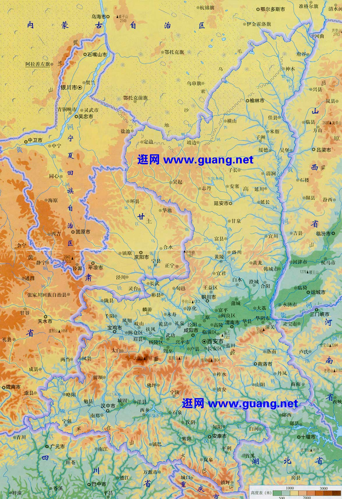 青岛市三维立体地图