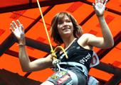 女子难度赛冠军奥地利新星Johanna Ernst